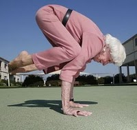 Yoga and Fitness Combats Aging